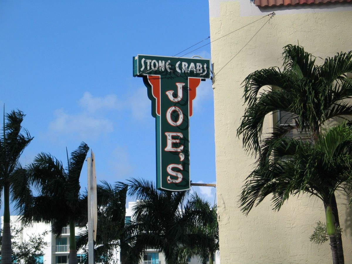 Joes stone crab south of fifth